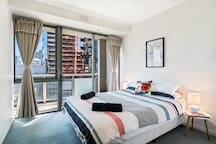 Second Queen bed with private balcony