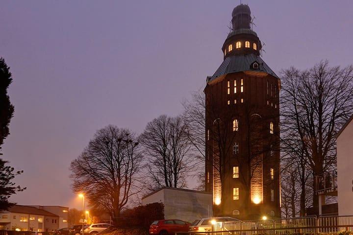 Bo i Ystads Gamla Vattentorn! Ett minne för livet.