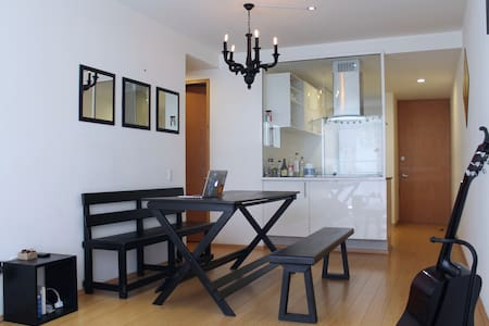 1 Habitación con baño privado - Roma Norte - Cidade do México - Apartamento