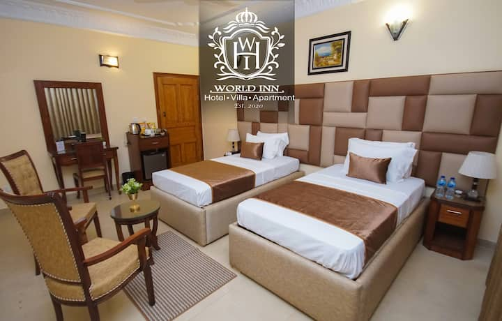 Superior Double/Twin Bed, World Inn Hotel Karachi