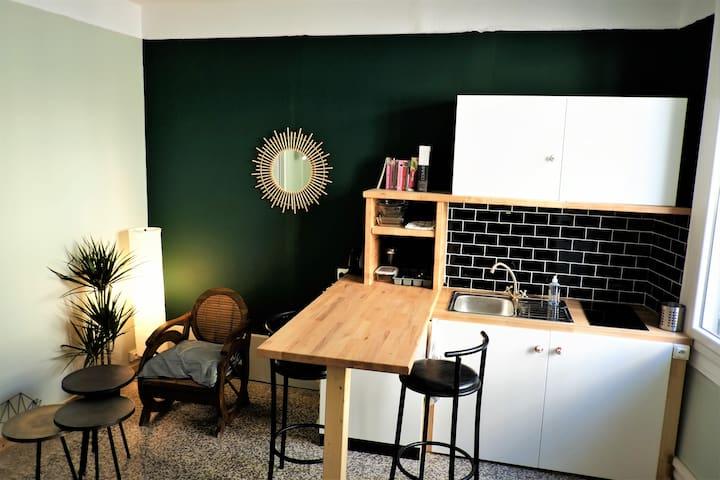 Appartement charmant, proche centre historique
