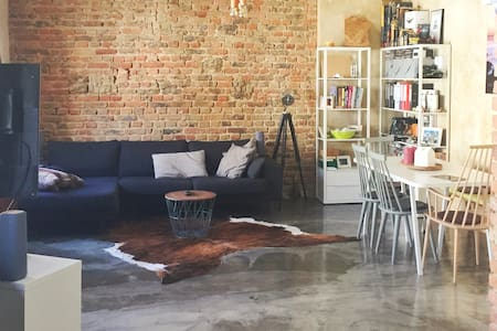 Industrial Style Loft - in the heart of Wiesbaden