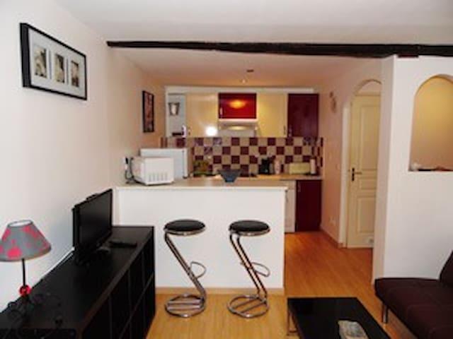 Logement confort pour 2 personnes allevard centre - Allevard - Appartement