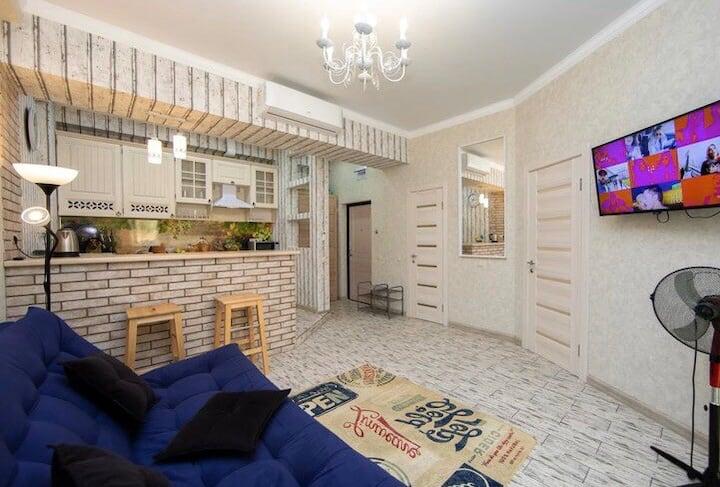 Евро трёх комнатные апартаменты в Посецдоне