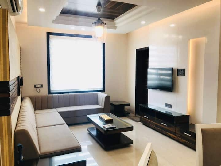 Luxurious | 2BHK | Pvt. Terrace | Centre of city.