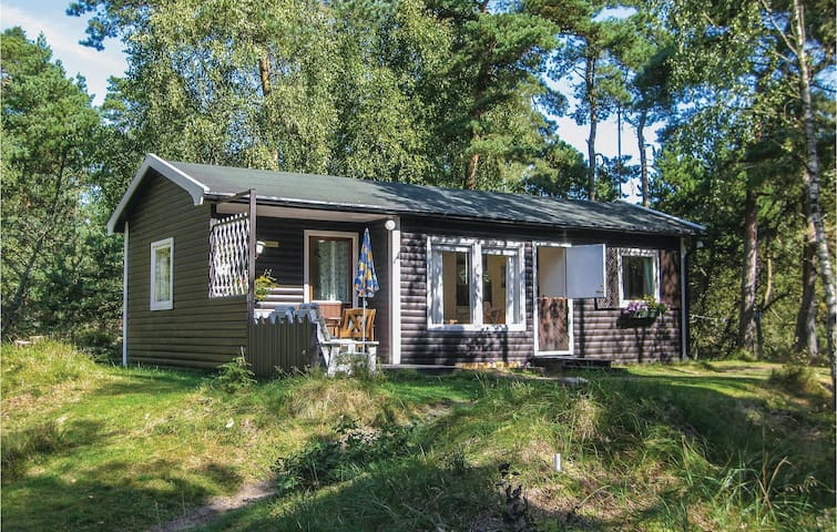 Holiday cottage with 2 bedrooms on 50 m² in Löderup