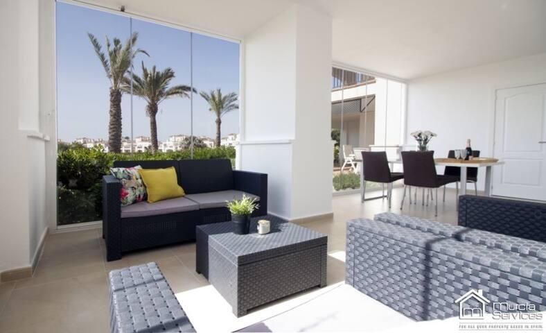 Casa Cereza*Garden Apartment*La Torre Golf Resort