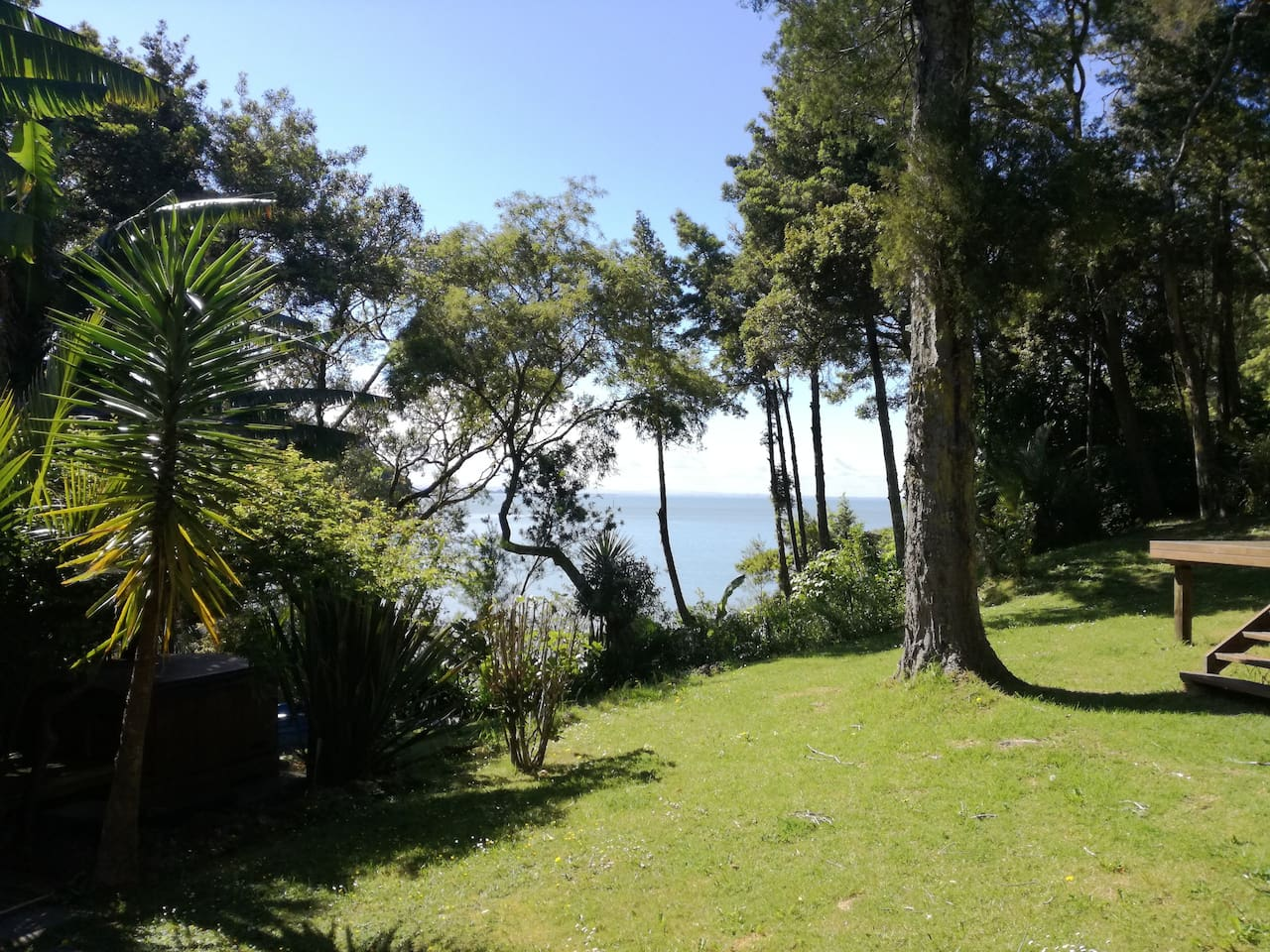 Ocean view from our garden