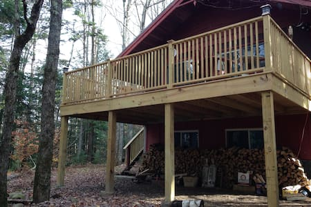 Chalet in the pines, five miles from mt. Snow - Wardsboro