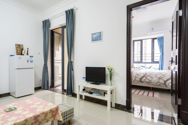 Modern flat on 26F in city center - Guangzhou - Apartamento