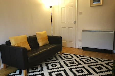 Cosy Finnieston flat, free parking,no cleaning fee