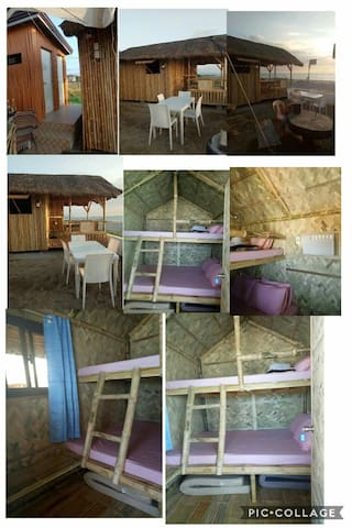 Joys Place on the Beach - (Nipa Hut 2 AC Room)