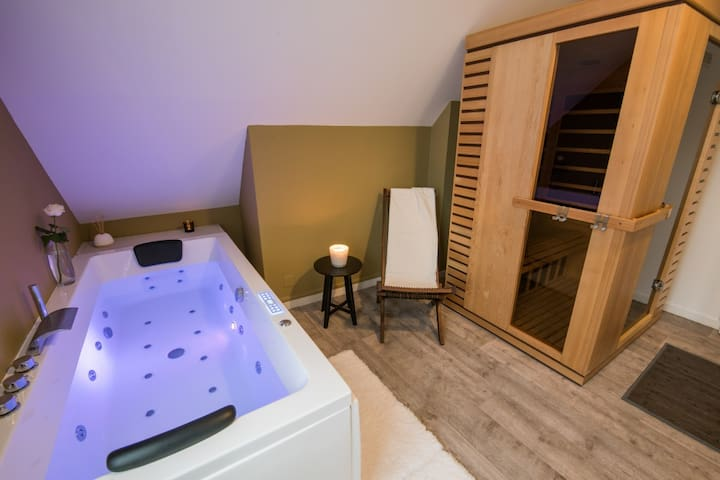 Apartment with private Spa in the heart of Troyes - Troyes - Apartmen
