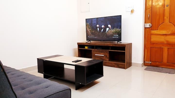 Chippy Apartment Furnished 2bhk @Velachery S1