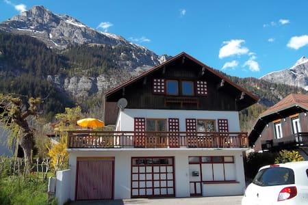 Village d'altitude, chambre 3 - Passy - Dům