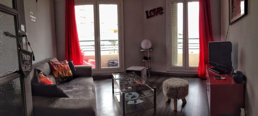 Petit appartement t2 chaleureux - Marseille - Apartemen