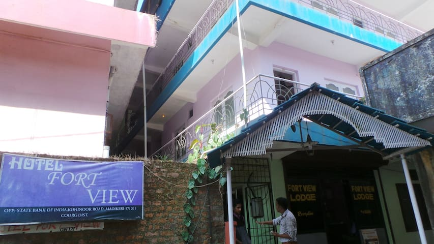 Hotel Fort View - Madikeri - Boutique hotel