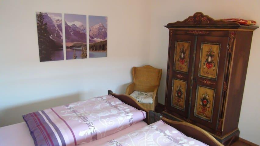 Schlafzimmer, Ferienwohnung Schwarzwald