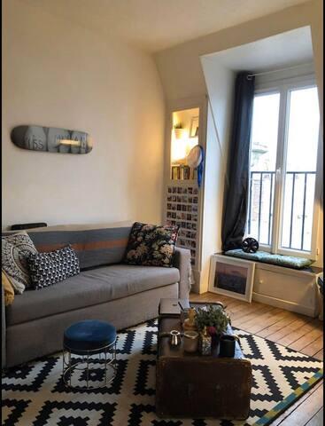 Charmant appartement au cœur de Paris