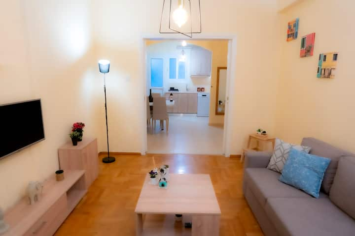 Pedion tou Areos, 2-bedroom renovated apartment
