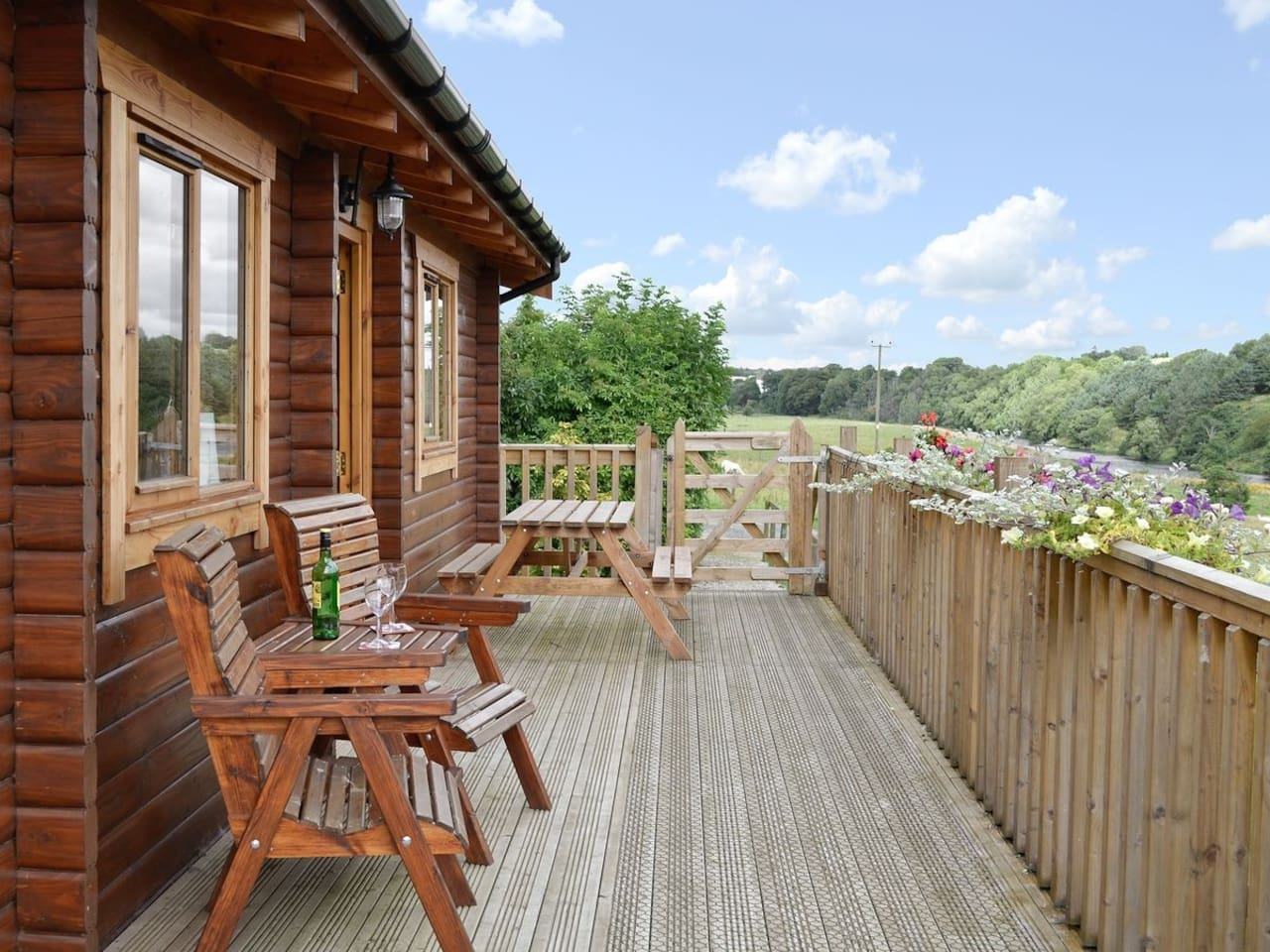 Lovely Views and seating area