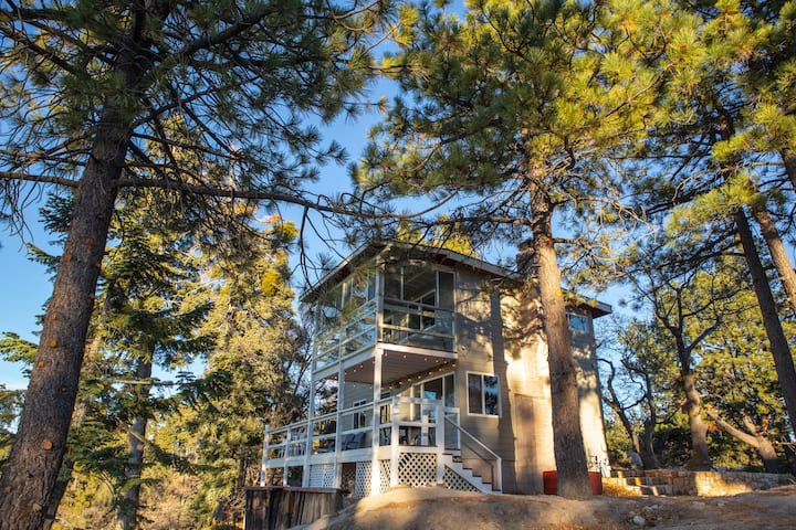 Cozy Mountaintop Cabin at Lake Arrowhead/Big Bear