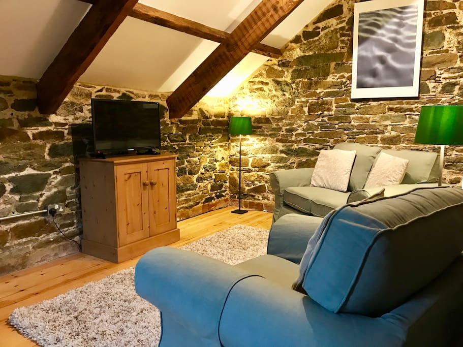 The family room is great for children and teenagers