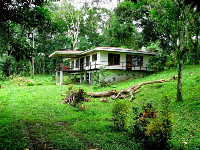 Pasifica casa rodeada de naturaleza - CR - House