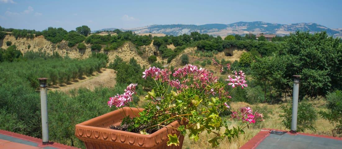 Casa Olive, Landgoed Misossero - Senise - Huis