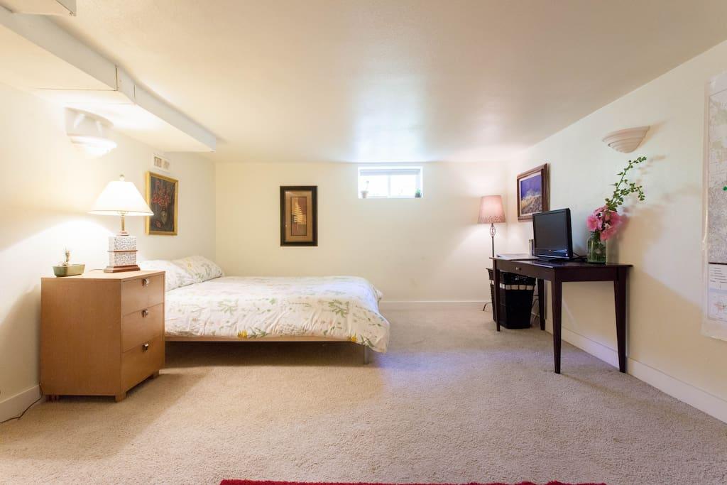 Interior of Basement Apartment