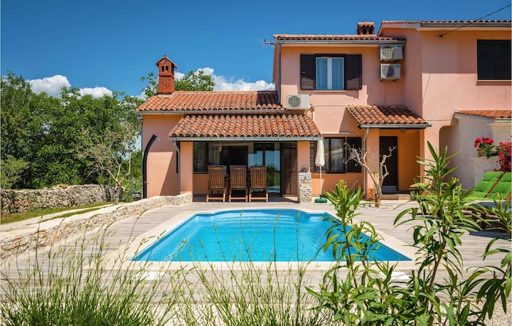 Awesome home in Marcana with WiFi and 1 Bedrooms