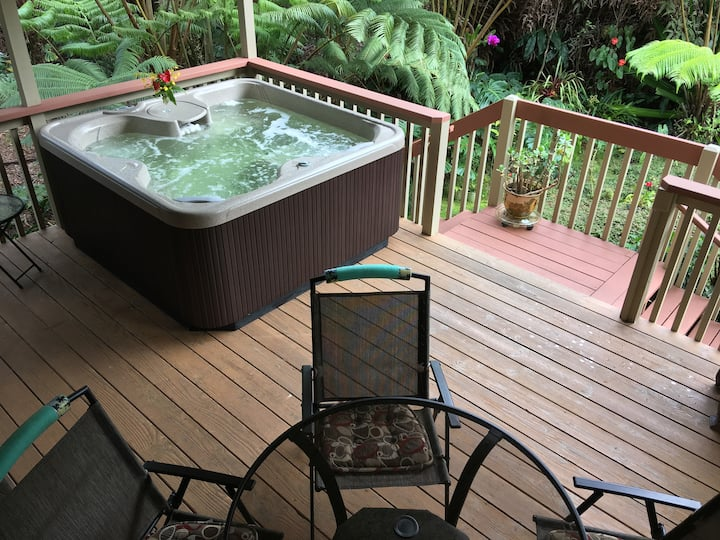 NOW w/ Hot Tub! Beautiful Rainforest View! Clean!