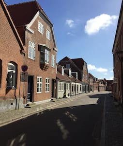Cozy apartment in the center of Ringkøbing - Ringkøbing - Daire