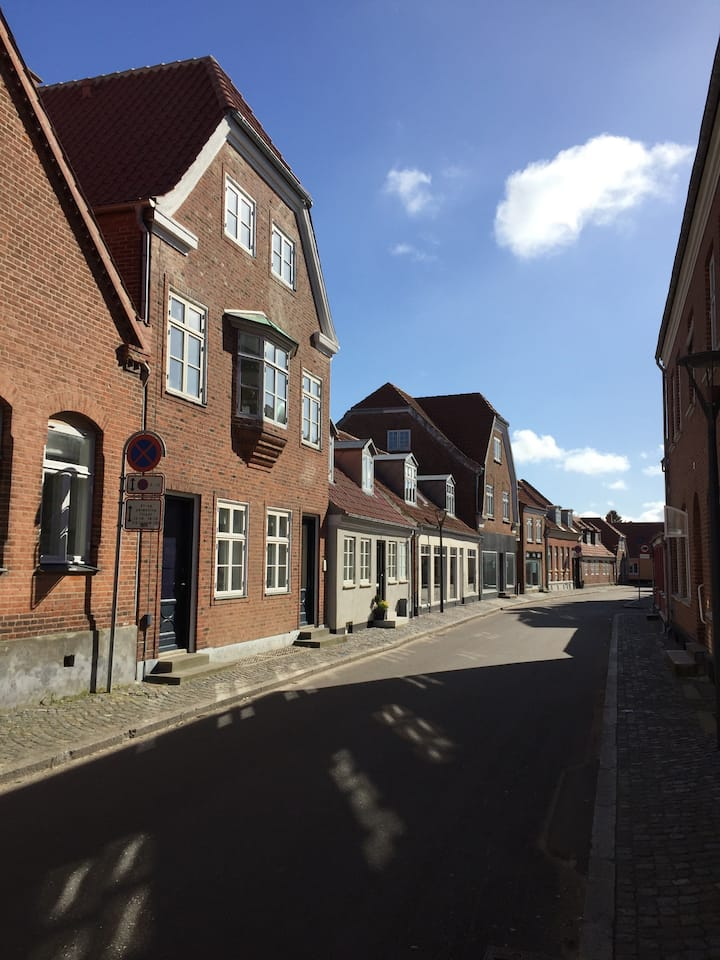 Cozy apartment in the center of Ringkøbing