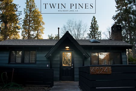 Twin Pines - Midcentury Modern Mountain Cabin