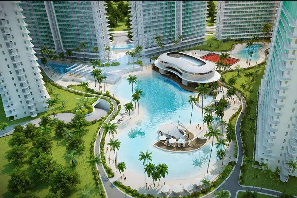 The property is the first in the country where a resort is located in the urban area or within metro Manila.