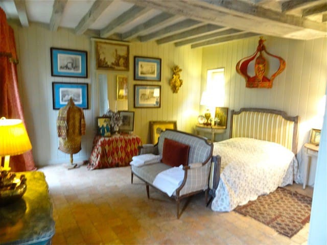 In the Loire Valley, a  Restored Guest House in Chateau Country; Sleeps 3 in La Petite