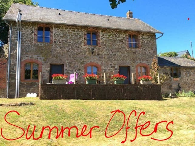 Le Moulin Gîtes, a holiday you need - Aron - House