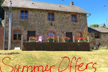 Le Moulin Gîtes, a holiday you need - Aron - Haus