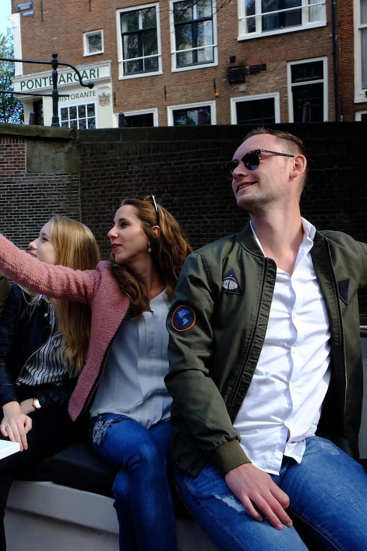 Enjoying Amsterdam