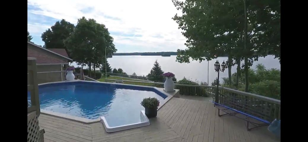 cottage rental- exclusive use of saltwater pool