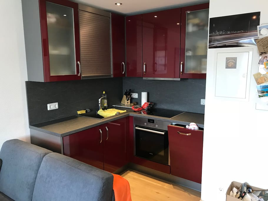 kitchen with dishwasher can be used