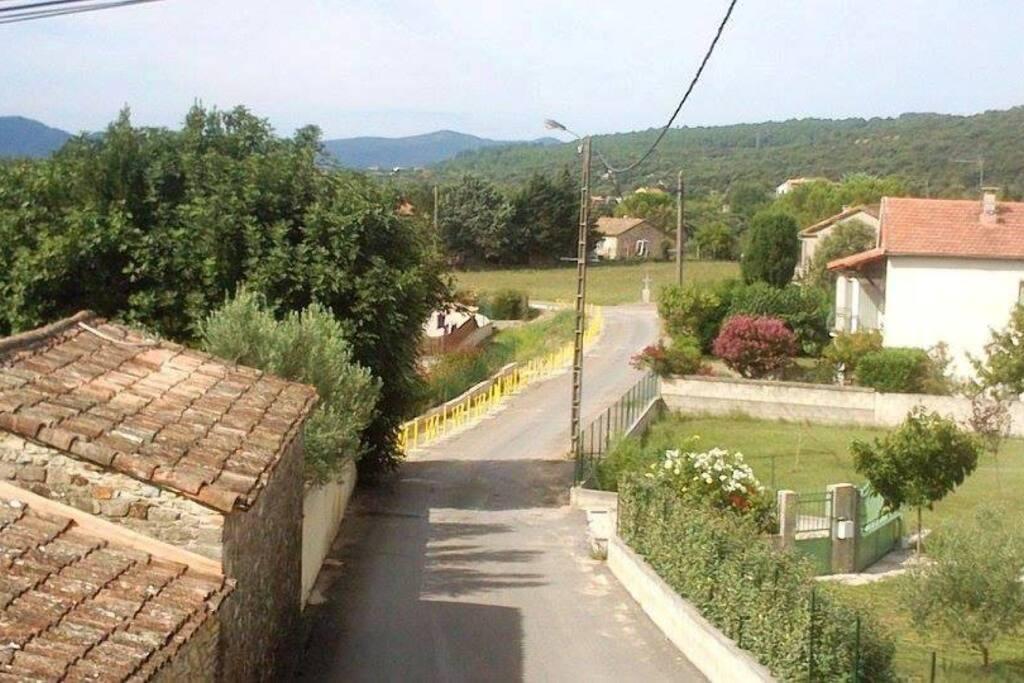 G te atypique avec terrasse privative proche al s case for Terrasse atypique