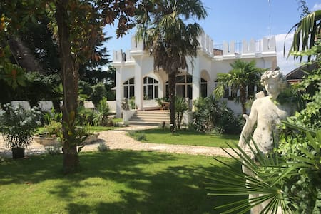 Eclectic villa