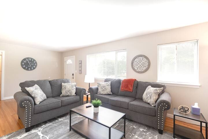 Relax in our 4 bedroom - 2 bathroom home!  Enjoy all the comforts of home!