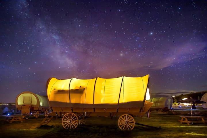 Beautiful Wagon at Conestoga Ranch