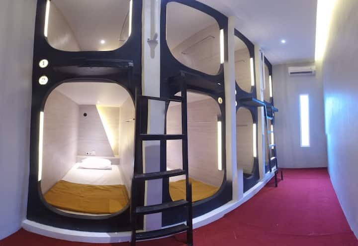 we are the first capsule hotel in Nusa Penida