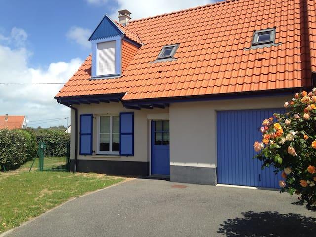 Maison de vacances 6 personnes à Wissant