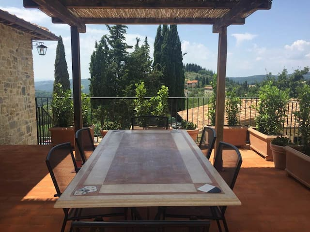 Casa di Lyndall - Lecchi in Chianti - Talo