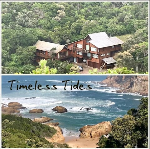 Exquisite sea view 4 bedroom house at Knysna Heads
